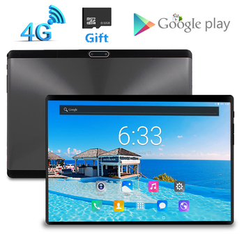 Free Gift 32GB Card 1920x1200 10.1 Inch 2.5D Screen Tablet 8 Core Dual SIM 4G LTE FDD 8.0 MP GPS Android 7.0 Google Tablet Pc