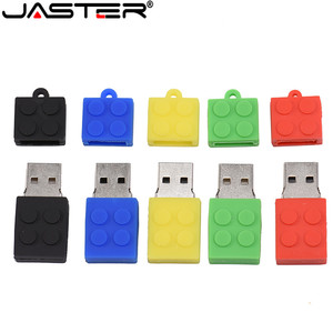 Toy Brick Flash Drive USB Flash Drive 64GB Silica gel Building Block Pendrive Gift 32GB Pen Drive Real Capacity USB Stick Cle