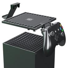 אבק כיסוי עבור Xbox סדרת X מארח תכליתי פיזור חום נטו אוזניות משחק בקר ידית מדף מתלה אביזרים