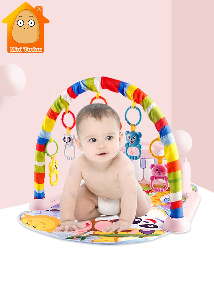 Puzzles Mat Carpet Play-Mat Piano Keyboard Educational-Rack-Toys Music Fitness Baby Gym