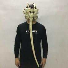 Alien Facehugger Mask Latex Materil Halloween For Adult Giant Spider New