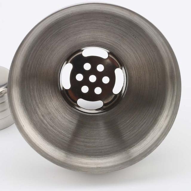 750 مللي الفولاذ المقاوم للصدأ المحمولة المطبخ زجاجة حزب الشرب صانع نادل كوكتيل شاكر مع مصفاة أدوات البار النبيذ خلط