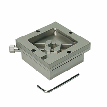 80MM 90MM Silver BGA Reballing Station Stencils Template Holder Fixture Jig for PCB Chip Soldering Rework Repair