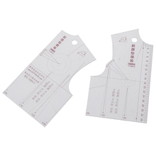 1:5 new prototype clothing ruler template drawing ruler DIY hand tailor sewing accessories