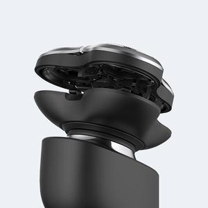 Image 5 - Xiaomi الكهربائية الحلاقة الحلاقة رئيس للرجال الجاف الرطب الحلاقة آلة اللحية المتقلب استبدال قابلة للشحن الرئيسي الفرعية المزدوج شفرة