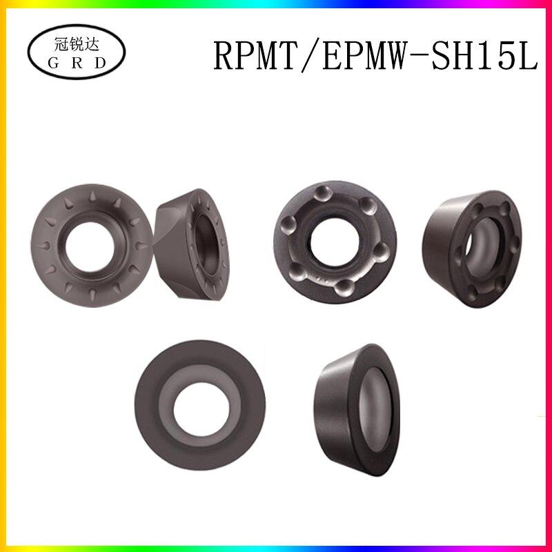 100% New R4 R5 R6 Round Insert RPMT RPMW RPMT08T2 RPMW1204 RPMW1003 Blade SH15L For Process HRC20-68 Degree Ordinary Steel