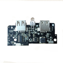 5V Power Bank Charger 1A 2A Booster Module Charging Circuit Board Step Up Boost Power Supply Dual USB Powerbank Electronic Kit