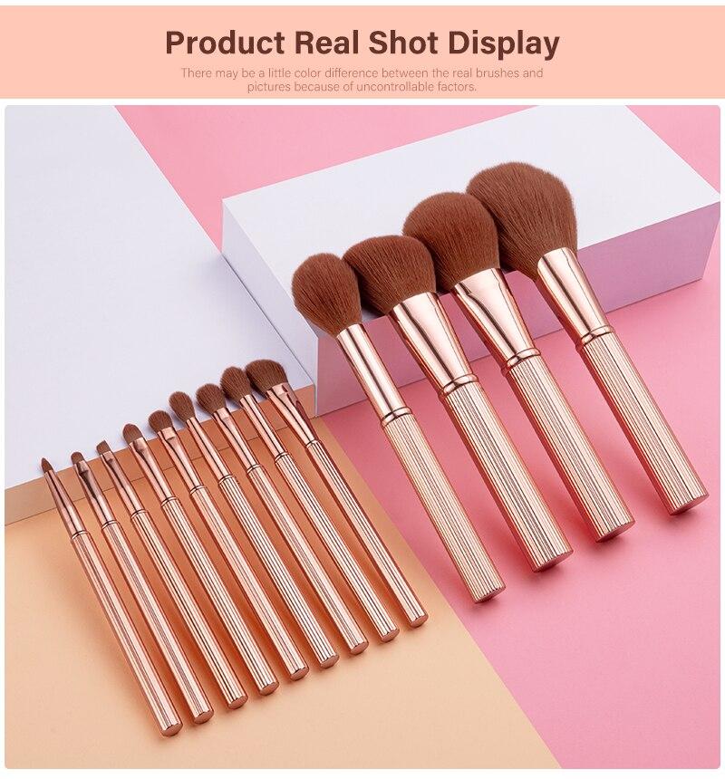 makeup brushes 13