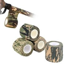 5cm*4.5m Army Camo Outdoor Hunting Shooting Tool Camouflage Stealth Tape Waterproof Hunting Accessories 40DC25 german elite m42 ss oak leaves camo hunting smock de 505134
