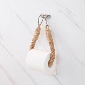 Vintage Towel Hanging Rope Toilet Paper Holder Home Hotel Bathroom Decoration Supplies(China)