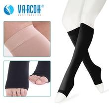 Chaussettes de Compression médicales, 30 40 mmHg est le meilleur diplôme athlétique et médical pour hommes et femmes, course à pied, vol, voyages, varices