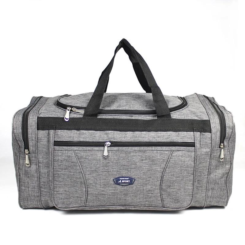 Оксфордские водонепроницаемые мужские дорожные сумки, ручная сумка, большая дорожная сумка, деловая Вместительная дорожная сумка для выходных