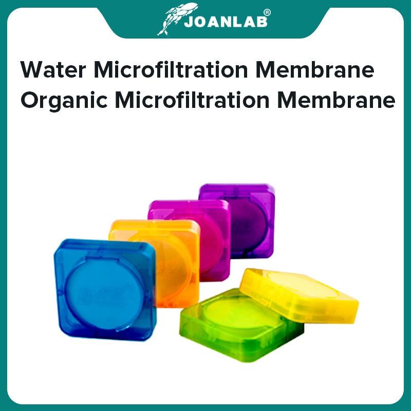 JOANLAB-membrana de microfiltración de agua para laboratorio, 0,45um, 0,22um, membrana de microfiltración orgánica de 50mm y 100mm de diámetro