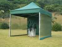 10ft x 10ft (3m x 3m) Luxury Aluminum Mesh Garden Gazebo Tent Preventing from Mosquito Outdoor Canopy Party Event Foldable Tents