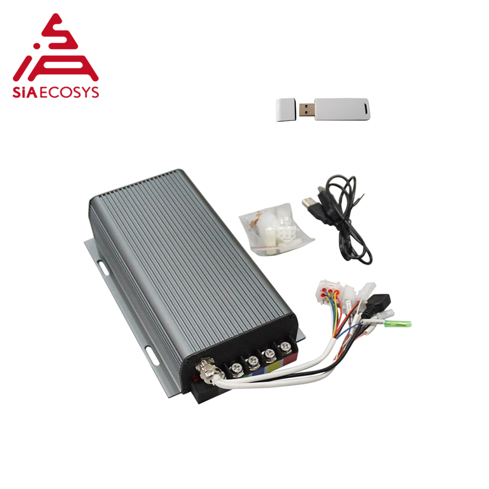 SVMC60150 Sabvoton controller 60v 150A for 3000w-<font><b>4000w</b></font> <font><b>QS</b></font> BLDC <font><b>motor</b></font> with bluetooth adapter image