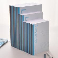 Записная книжка deli с беспроводным переплетом, Студенческая офисная мягкая копия A4/b5, мягкая лицевая копия A5, блокнот 23200
