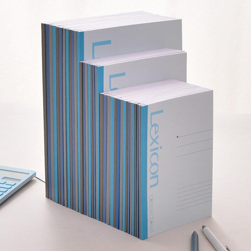 Cuaderno deli inalámbrico de encuadernación para oficina estudiantil copia suave A4/b5 soft face copy A5 Notebook 23200