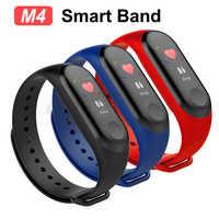 Pulsera de reloj inteligente, pulsera de deporte resistente al agua, pulsera de pantalla a Color, banda inteligente para iPhone