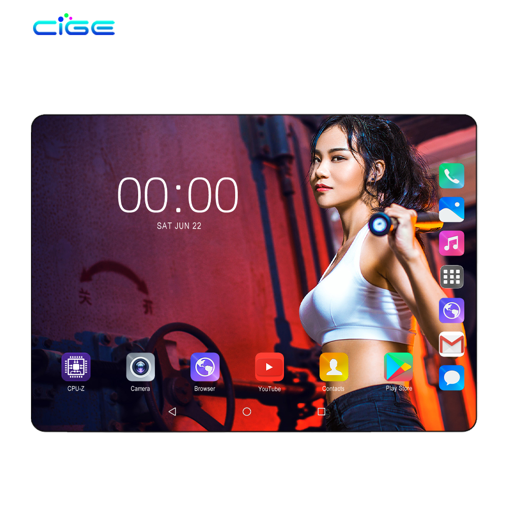M9 Tablet PC Android 9.0 10.1 Inch Tablets 6GB RAM 64GB ROM Octa Core Dual SIM 3G WCDMA 4G LTE WIFI Bluetooth Google Play 10