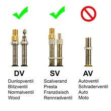 Высокое качество адаптер клапана велосипеда, DV, SV(Dunlop, французский клапан) к AV(клапан) с Rin велосипед аксессуары 1/2/3/4/5/10 шт