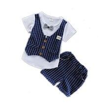 Новинка летняя детская хлопковая одежда для мальчиков Детская