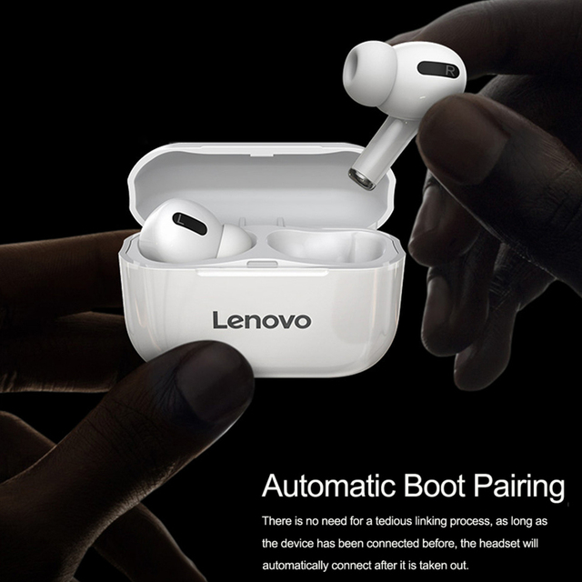 Lenovo LP1S TWS Wireless Earphone Bluetooth Upgraded version 5.0 Dual Stereo Touch Control 300mAH New سماعة fone de ouvido 2