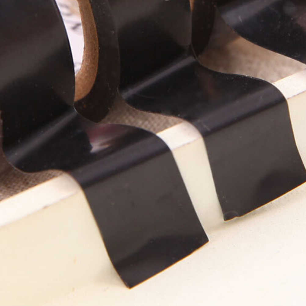 1pc שחור 10M PVC מעכב בעירה דבק ויניל בידוד חשמלי קלטת רול חום עמיד חשמל כוח בידוד קלטת