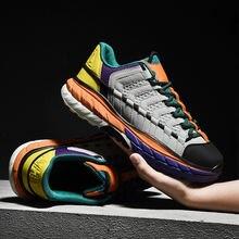 Женские повседневные разноцветные туфли Новое поступление модная