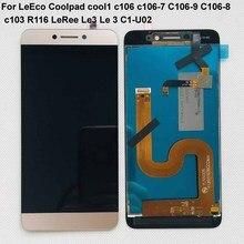 Pantalla LCD para LeEco Coolpad cool1 cool 1 c106 c106 7 C106 9, montaje de digitalizador con pantalla táctil R116 C103