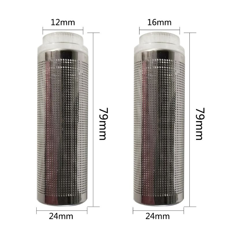 12/16mm Aquarium Trachea Stainless Steel Protective Sleeve Fish Tank Filter