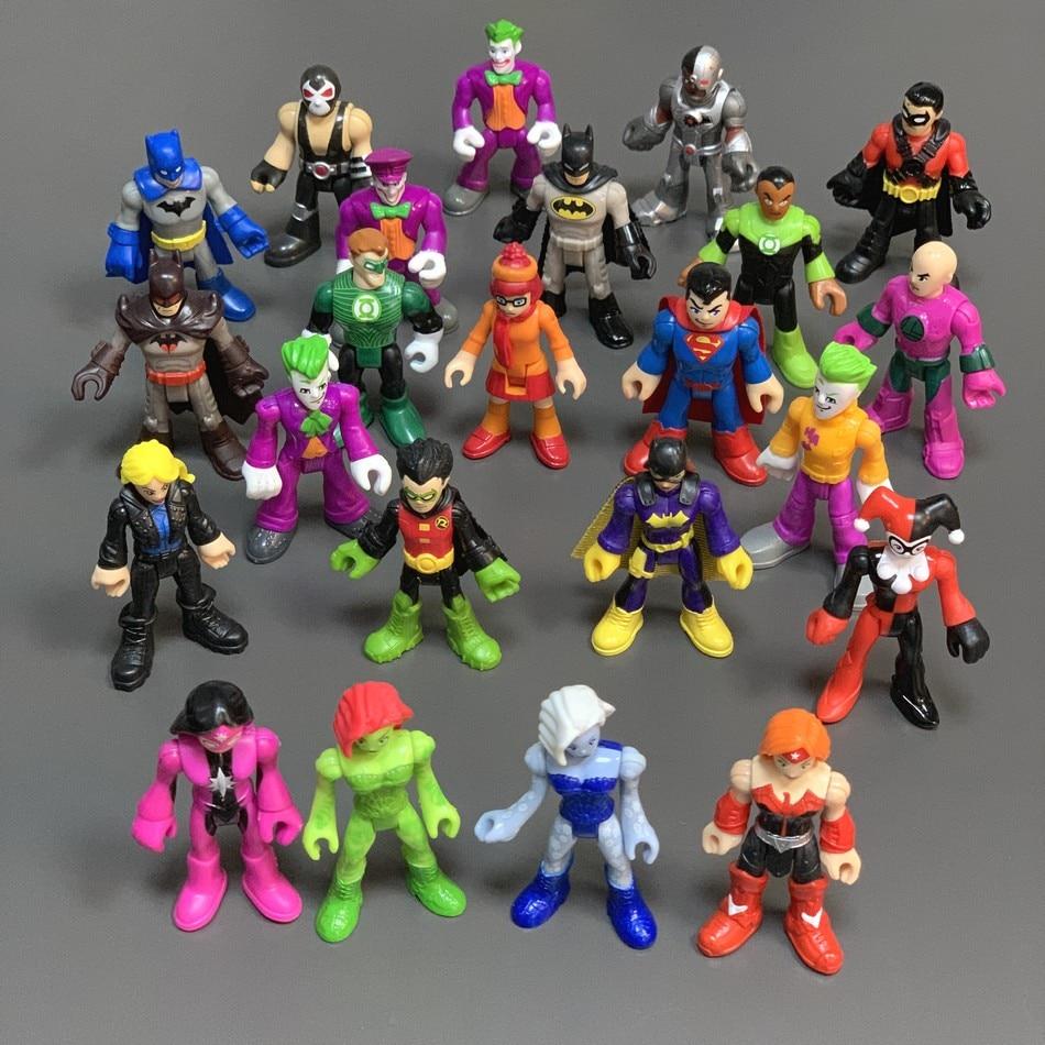 23 Teile/los Rare DC Super Freund GIFT IVY STAR SAPPHIRE ARTEMIS MÖRDER FROST ROBIN Action Figure Bösewicht Film Spielzeug Puppe geschenk
