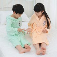 31 estilos de algodão toweled roupão crianças do bebê pijamas pijamas robe com capuz banho robe meninos meninas algodão crianças roupão