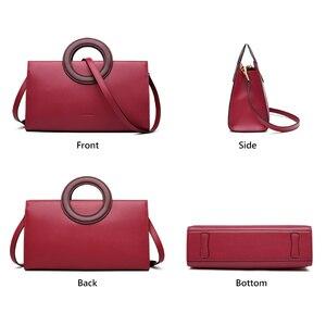 Image 3 - FOXER Lady Elegant Hand Bags Cowhide Women Stylish Shoulder Bag Leather Tote Female Luxury Messenger Bag Fashion Brand Bag Purse