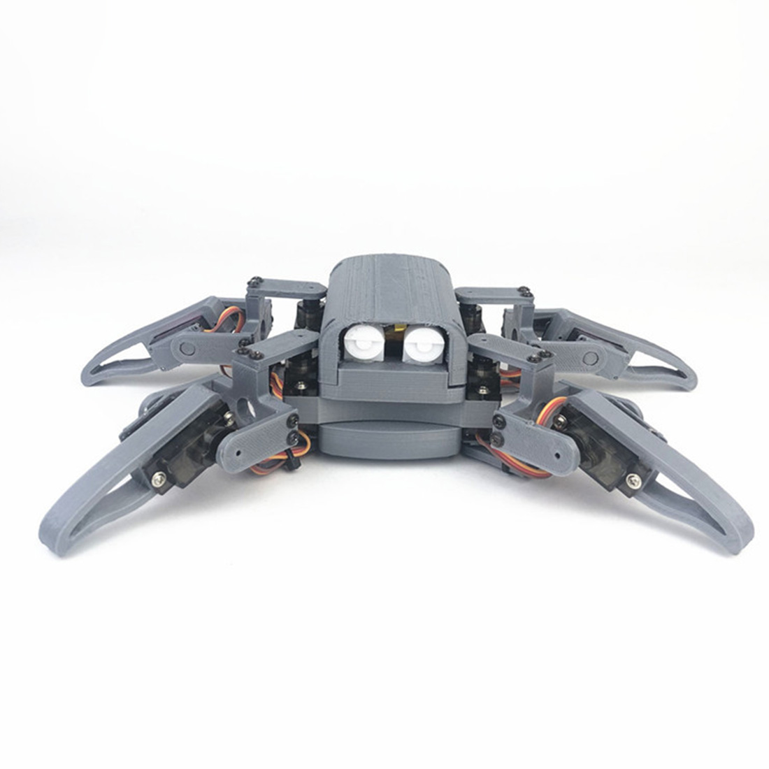 DIY Programmable Four-Legged Spider Education WIFI Phone Can Control Robot Kit For Nodemcu Programmable Toys