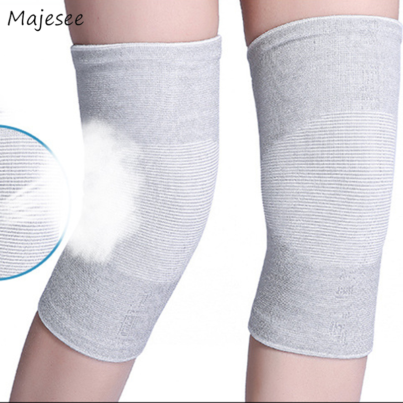 Knee Sleeve Women High Elasticity Females Comfortable Causal Solid Fitted Thin Summer Daily  Womens Fashion Korean Style