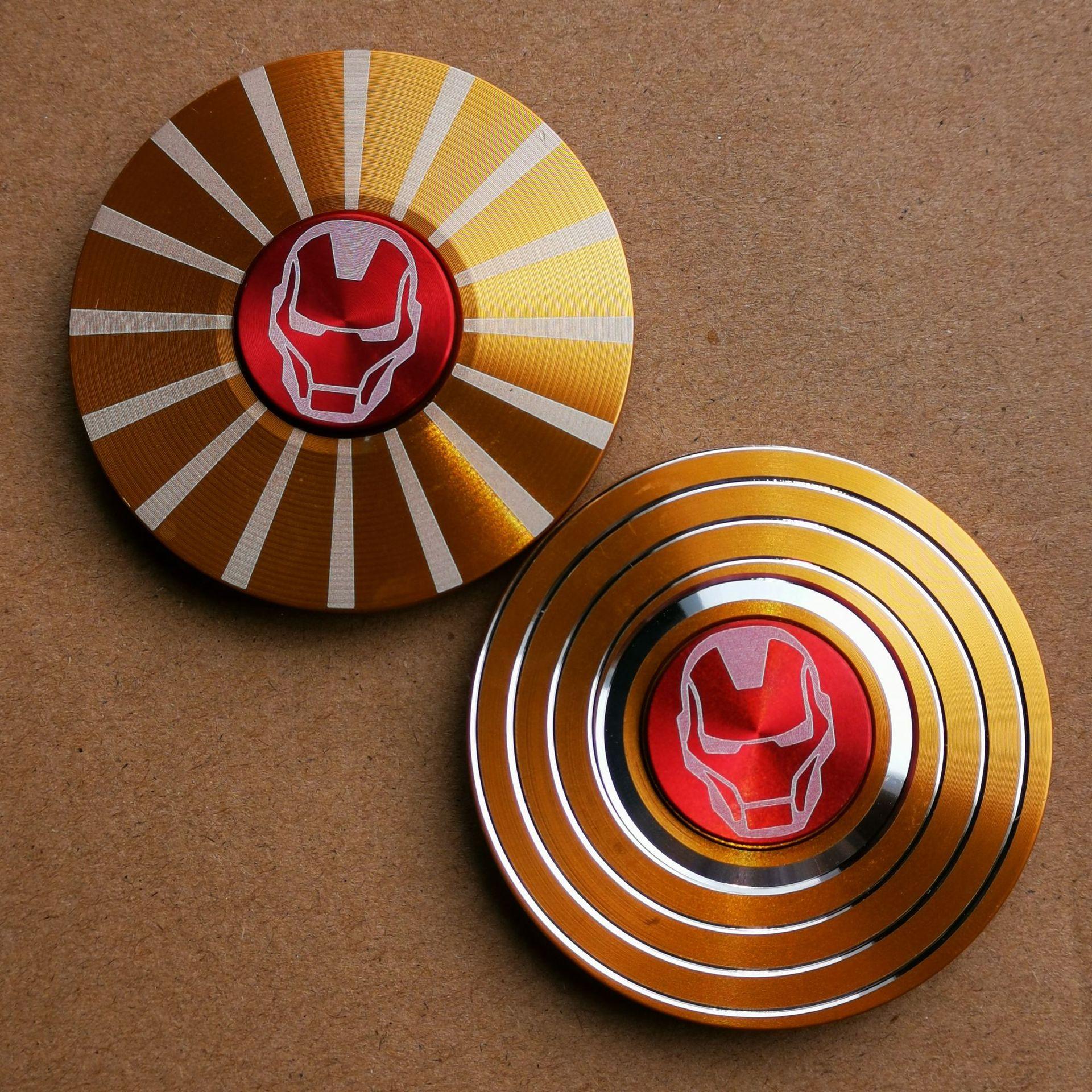 Wholesale Fidget Spinner Metal Tri Spinners Hand Figet Finger Spiner Toys For Anti Stress Children Kid Gift