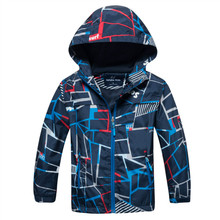 Kids Coat 2020 Autumn Winter Boys Jacket for Boys Children Clothing Hooded Outerwear Baby Boy Clothes 4 5 6 7 8 9 10 11 12 Years cheap macamp Fashion COTTON Polyester geometric REGULAR Outerwear Coats Full Fits true to size take your normal size Heavyweight