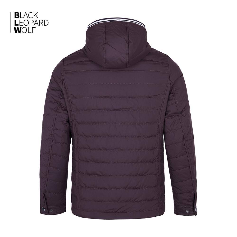 Blackleopardwolf 2019 new arrival spring down jacket high quality thick cotton balck color duck down jacket spring coat ZC-C5612 2