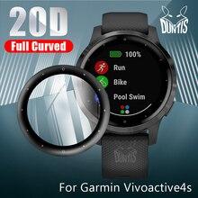 20D Защитная пленка для смарт-часов Garmin Vivoactive 4 4s Active / Active S Часы Мягкий Экран протектор Аксессуары для смарт-часов (не Стекло
