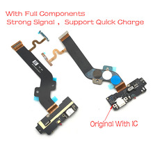 Dock Connector Micro USB Charger Charging Port Flex Cable Microphone Board For LeTV Leeco Le one 1 Pro X800