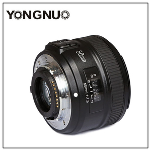 Image 4 - Yongnuo YN50mm F1.8 C/N Ống Kính Lớn Apeature Tự Động Lấy Nét Cho Canon Nikon DSLR Camera 500D 600D 120D D5100 D5200 D7000 D3500 d90 D3