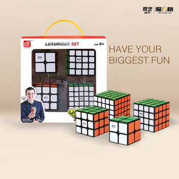Qiyi Cube 2x2 3x3 4x4 5x5 Magic Cube 3x3x3 4x4x4 5x5x5 Cubo Magico Profissional Puzzle Speed Cube Toy For Children Education Toy mr m magic cube 2x2x2 3x3x3 4x4x4 cubo magico speed puzzle cubes 2x2 3x3 4x4 5x5 cube magnetic educational 5x5x5 magnetico toys