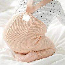 Pamuklu bebek külotlu yenidoğan bebek pantolon yüksek bel çapraz kemer bebek tayt bebek erkek kız pantolon