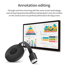 4K HDMI-compatible Wireless Display Dongle Display Dongle Video Adapter Airplay WiFi