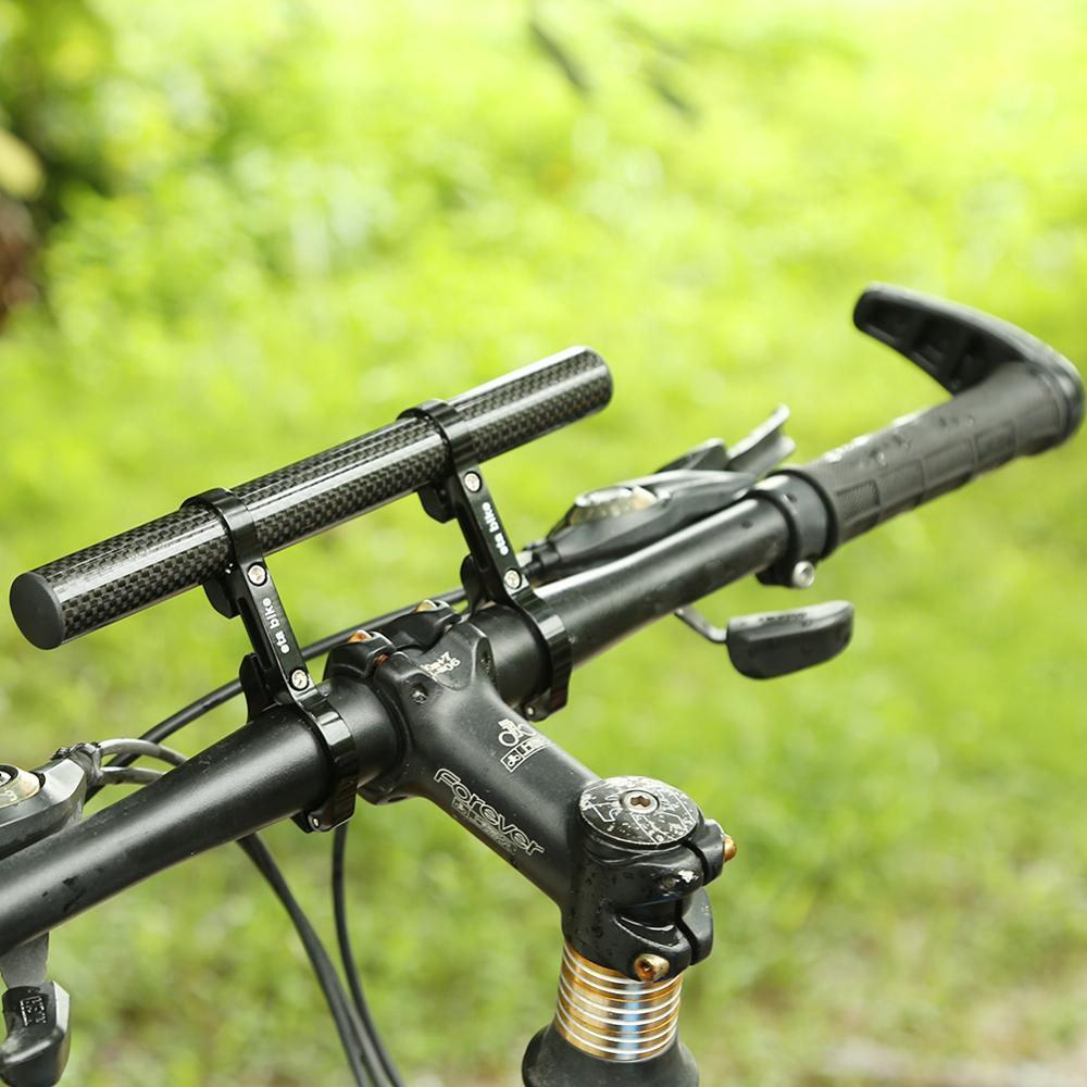 RockBros Bicycle Light Support Bracket Clip Stand Rotatable Holder Black Orange