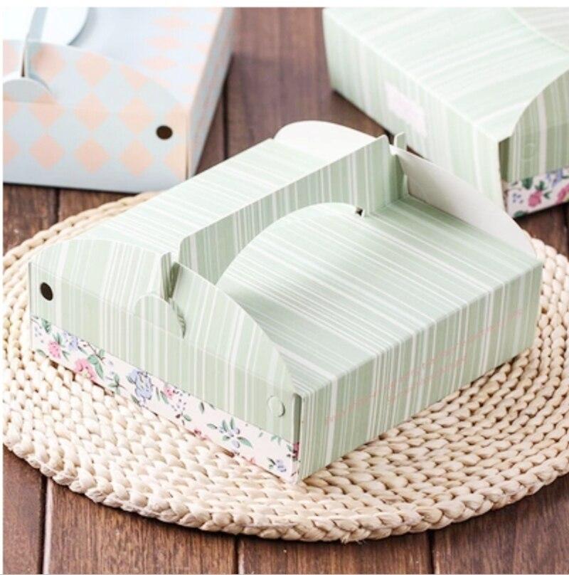 Neue Geschenkbox, weiße Schachtel, Nougat Trockenbeutel, Hochzeits-Schokoladenkuchen-Paket, Partyprodukte
