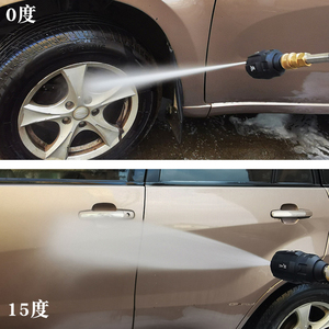 Image 5 - Buse 5 en 1 nettoyeur haute pression 0 15 25 40 65 buse en une pièce G1/4 connecteur mâle adaptateur rapide, pistolet de lavage de voiture