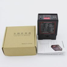 PD132 Single Channel Inductive Vehicle Loop Detector for Car Parking Lot Vehicle Loop Detector ENGLISH VERSION car park barrier pd232 double channel loop detector