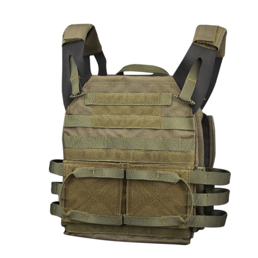 Tactical Vest Children Mini Molle Jump Plate Carrier Airsoft Vest