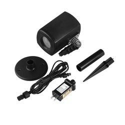 ABS + алюминиевый лазерный светильник-проектор с автоматическим таймером, энергосберегающая вилка стандарта США, Великобритании, ЕС, создающ...